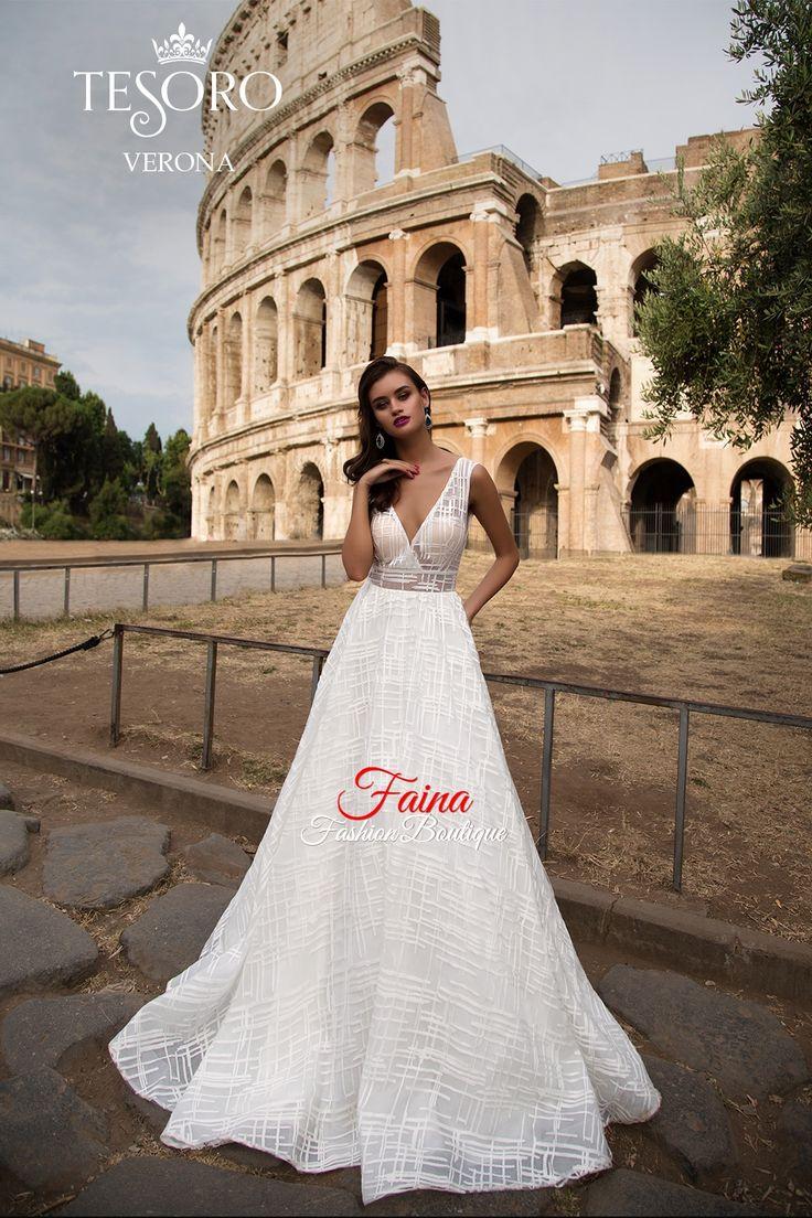 Вечерние и свадебные платья Tesoro в Саратове, бутик Faina Fashion Boutique