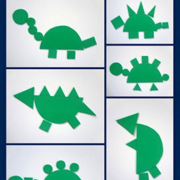 Dinosaur Themed Crafts For Preschoolers