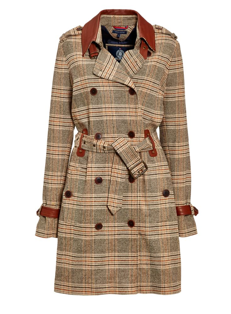 Trench coat from #TommyHilfiger