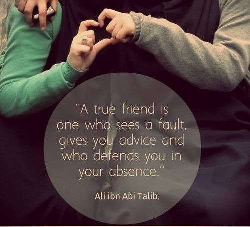 Quotes On Wah A True Friend Is: Defends You In Your Absence....yes, That's What We Do For
