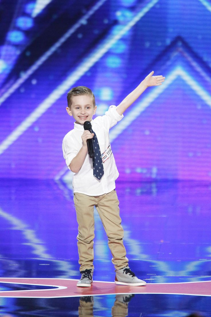 America's Got Talent - Season 11 This 6yr old kid made me literally lol!