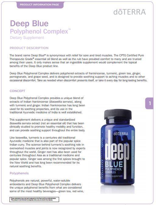 Deep Blue Polyphenol Complex 2