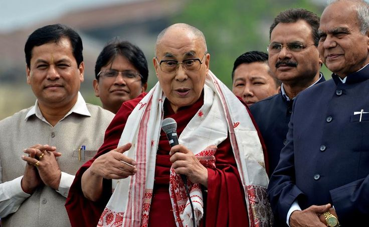 China and India spar as Dalai Lama starts his nine-day ...