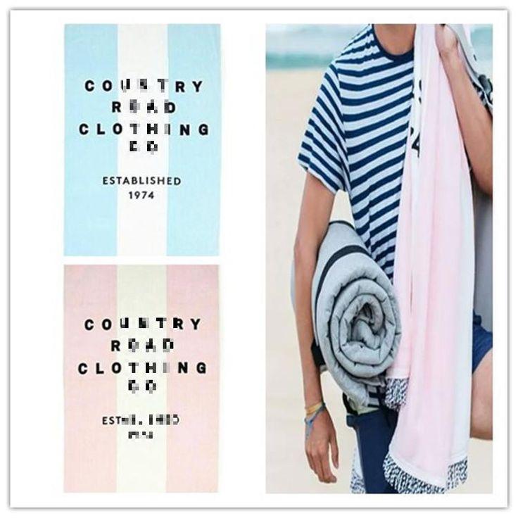 Modern Stripes Simple Letter 100 Organic Cotton Beach High Grade Men's Thickened Bath Towels Toallas Redondas Beach 100*180