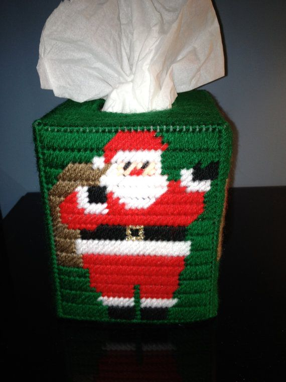 Traditional Christmas Santa Clause Tissue by HandcraftedHolidays, $13.00