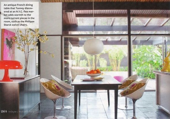 Actress Robbin Tunney's home from InStyle: Robins Tunney, Dining Rooms, Houses Instyle, Tunney Houses, Home Is, Dreams Rooms, Mi Casa, Robin Tunney, Houses Tours