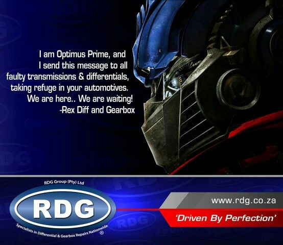 RDG - We are here to solve all your transmission and differential problems!