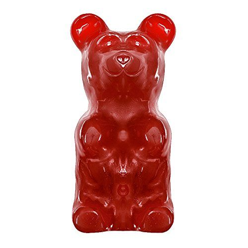 Giant Gummy Bear approx 5 Pounds - Cherry Flavored Giant ...