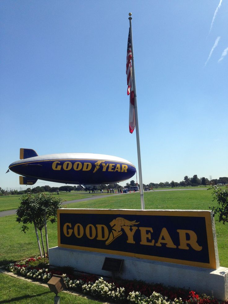 Carson ca home of the goodyear blimp for many years