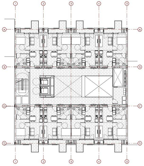 EXE Arquitectura | Vivienda para gente mayor + CAP | 2011