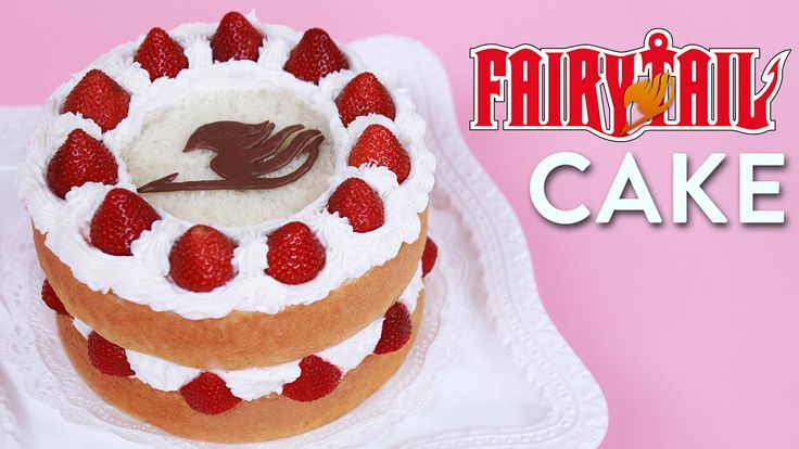 Fairy Tail Cake Nerdy Nummies