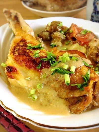 骨付き鶏もも肉の酒粕煮込み。 by Misuzuさん | レシピブログ - 料理 ... レシピ. 骨付き鶏もも肉の酒粕煮込み。