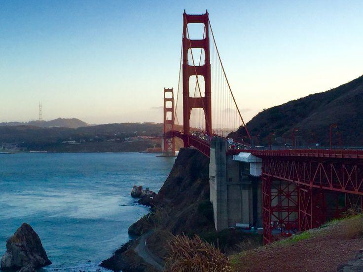 Vista Point: Golden Gate