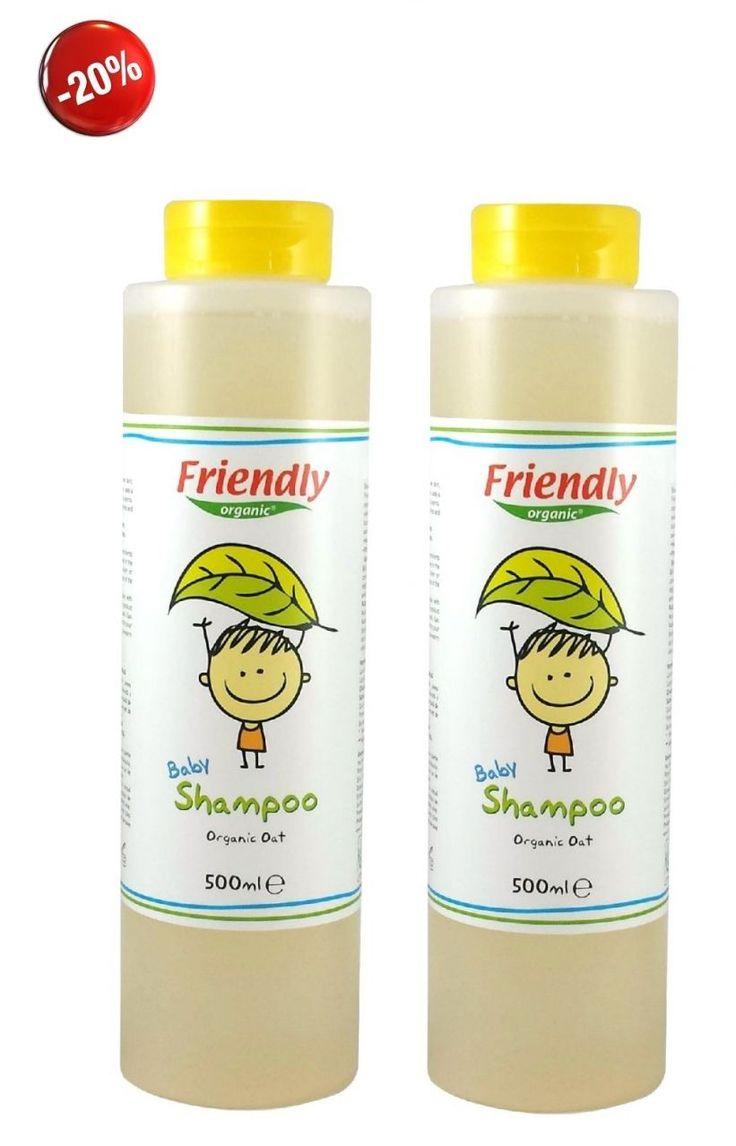 Friendly Organic Bebek Şampuanı 2 ADET 500ml