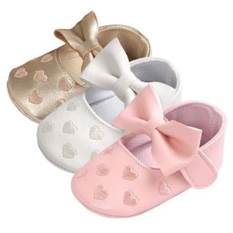 ราคาถูก  Baby PU Leather Baby Boy Girl Baby Moccasins Moccs Shoes Bow FringeSoft Soled Non-slip Footwear Crib Shoes - intl  ราคาเพียง  269 บาท  เท่านั้น คุณสมบัติ มีดังนี้ Item Type: First Walkers& Gender: Baby Girl& Outsole Material: Rubber& Fit: Fits true to size, take your normal size& Color: white, red, black,& Upper Material: PU&