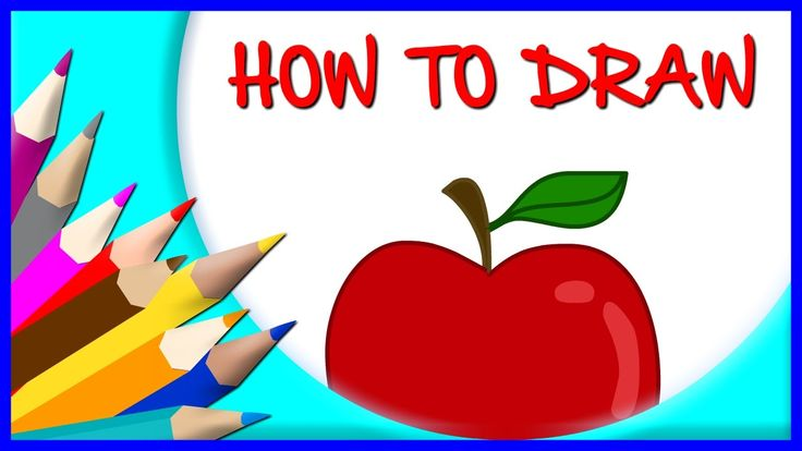 How to Draw an Apple | Drawing Time Lapse | 853672 HTD