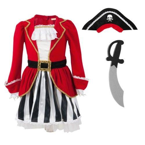 Les petites filles vont enfin pouvoir se déguiser en petit pirate. Pour que vos enfants s'inventent de grandes aventures et développent leur imaginaire.