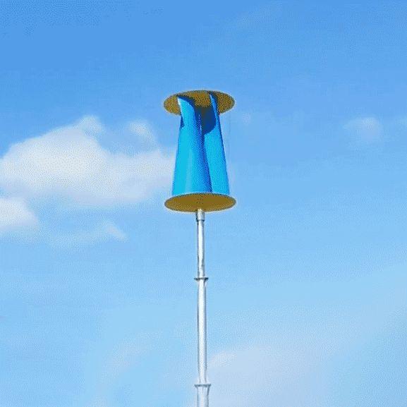 Stunning Home Helix Windturbine u Wind of Change Architektur und Garten Pinterest