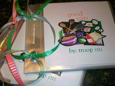 Make a troop cookbook- did this when I was a brownie and still have it! It was great seeing what the other girls had as a favorite recipe.