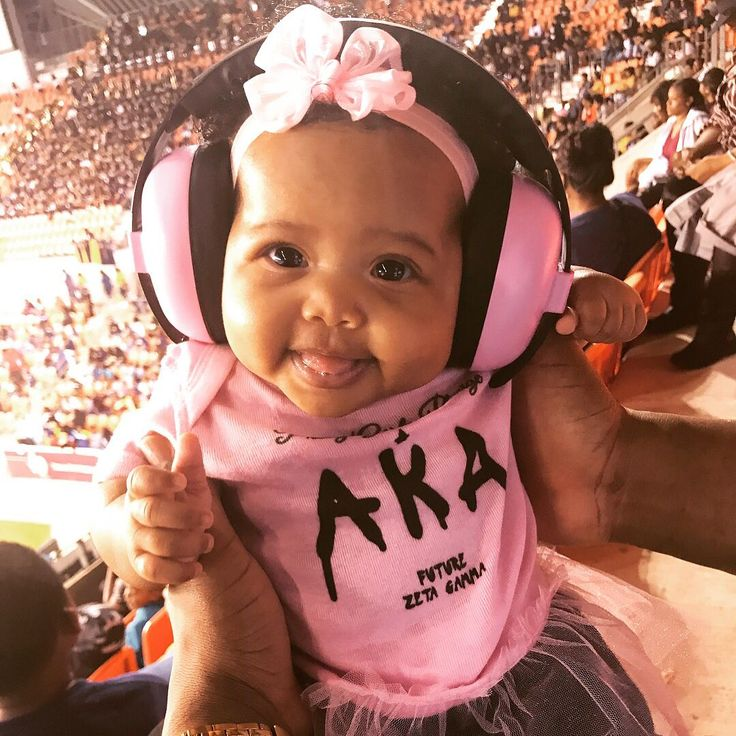 """This was my first game!"" So cute! And her hearing is safe from the roar of the crowd - brilliant! Find hearing protection for your child here - and now with Bluetooth connectivity for under 2s!  ( #📷 @royaltyjacq via @latermedia )"