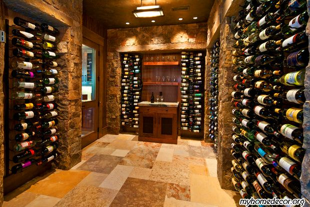 Traditional Wine Cellar Design. Wish I knew more about wine. I would love to start collecting and have a cellar one day.