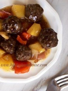Saucy Pineapple Meatballs-Big Sky Farmhouse