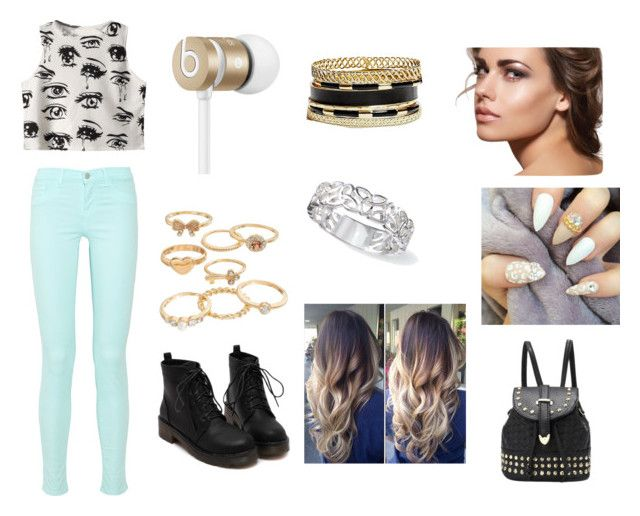 """Untitled #15"" by zaynmalikswifie610 ❤ liked on Polyvore featuring Beats by Dr. Dre, GUESS, Mudd and Chicnova Fashion"