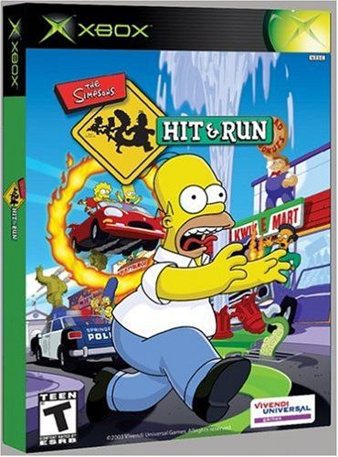 Simpsons: Hit and Run - Xbox