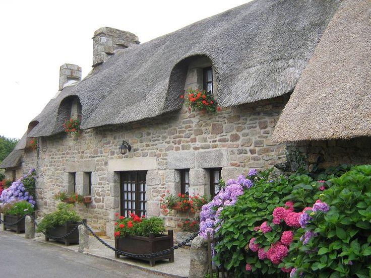 Maison typique du Finistère