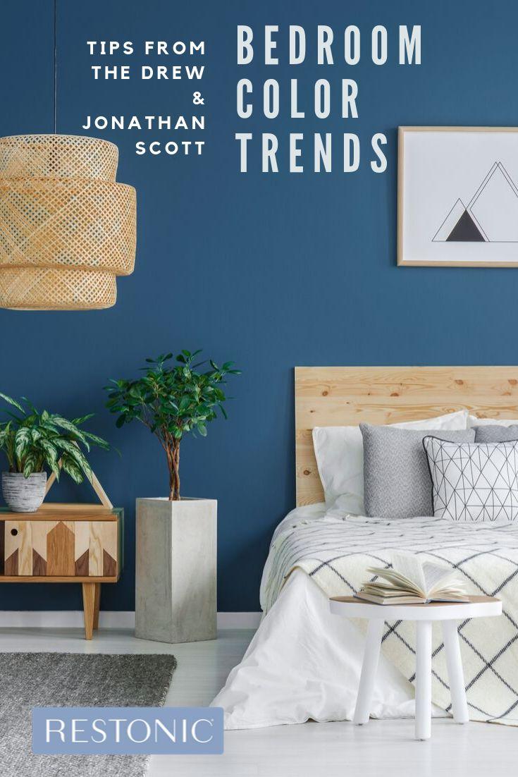 Bedroom Color Trends, According to HGTV's Property Brothers, Drew & Jonathan Scott