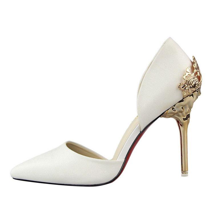 2016 Summer SEXY Stiletto Red Bottom High Heels Women Pumps Wedding Shoes Stilettos Red Bottoms Escarpins Semelle Rouge Talon-in Women's Pumps from Shoes on Aliexpress.com | Alibaba Group