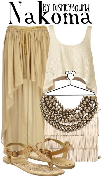 Idk who this is from Pocahontas, but I love this outfit