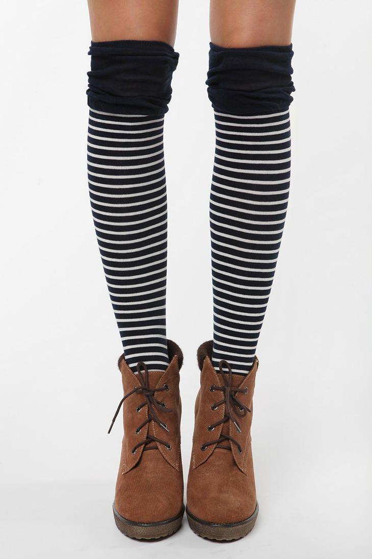 knee socks (and thigh socks!)   Love them!!