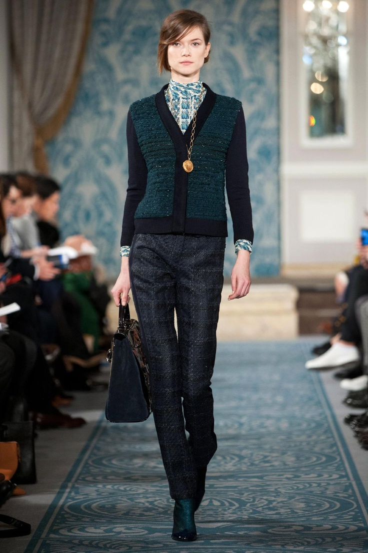 Fall winter 2013 fashion trends for women - Tory Burch Fall 2013 Rtw Fashion Show