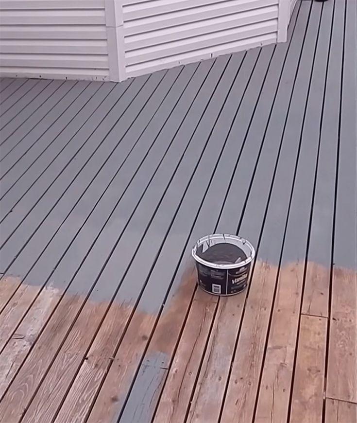 Stain Or Paint Deck Deck Paint Deck Paint Reviews Deck Paint Colors
