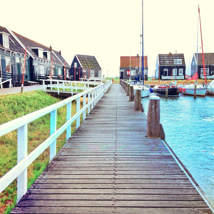 Marken - a small, beautiful, and quaint fishing town in The Netherlands