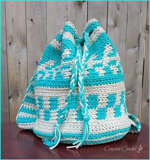Mochila Bag - Free pattern by Croyden Crochet