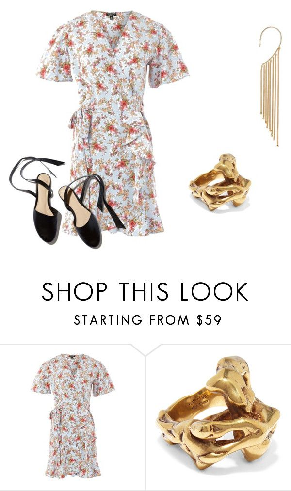 """""""Summer dress 2"""" by catherinemairi on Polyvore featuring Topshop, Tom Ford and Rosantica"""