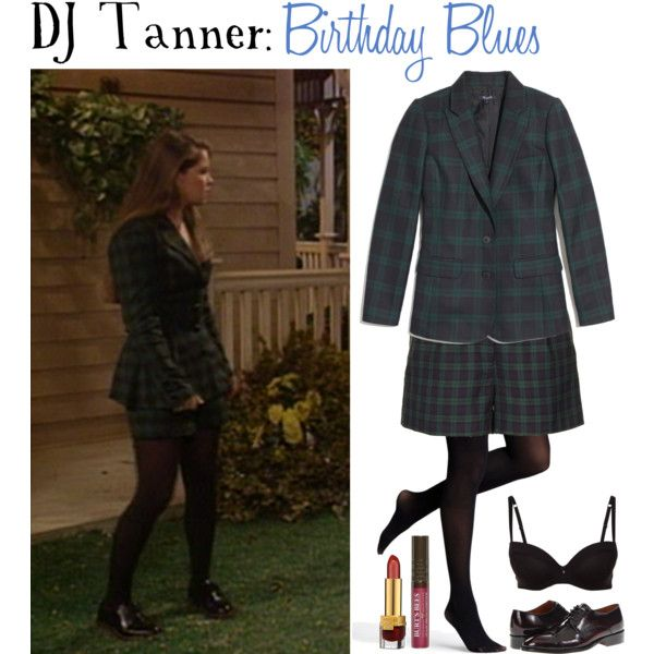 DJ Tanner: Birthday Blues episode outfit. I don't care that this is from the 90s. I would totally rock it now.