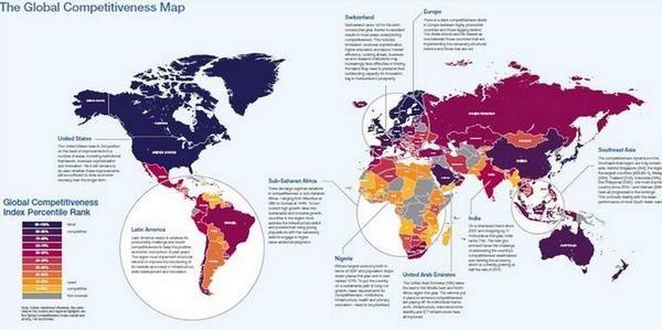 Competirividad de paises