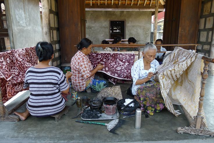 Process and technique of making batik #diy #fabric #batik #handmade #culture #heritage #arts