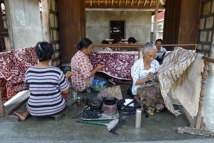 Process and technique of making batik #diy #fabric #batik #handmade #culture #heritage #arts