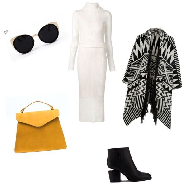 A fashion look from November 2015 by ipekimir featuring Alice + Olivia, Accessorize, Alexander Wang ve Una-Home