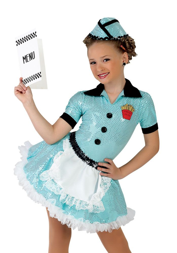 I see A dance like this every where I am going to have a dance with my little girls with these costumes