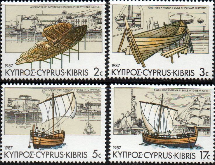 Cyprus 1969 Ancient Maps Set Fine Mint SG 329 - 330 Scott 324 - 325 Other European Commonwealth Stamps HERE