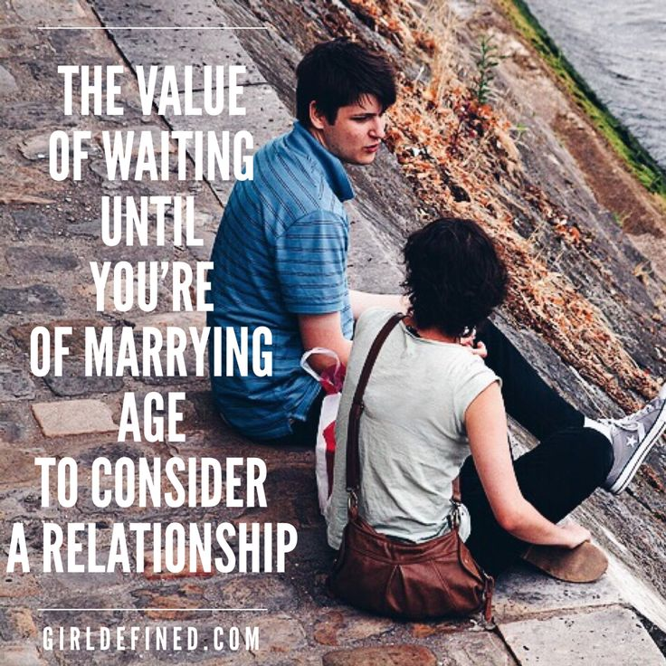 Waiting until marriage dating sites