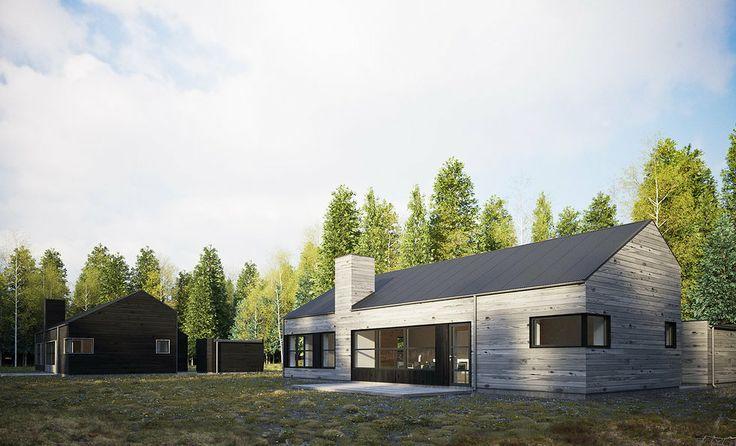 ZIPHOUSE - Kundanpassade moderna passivhus | Lodge