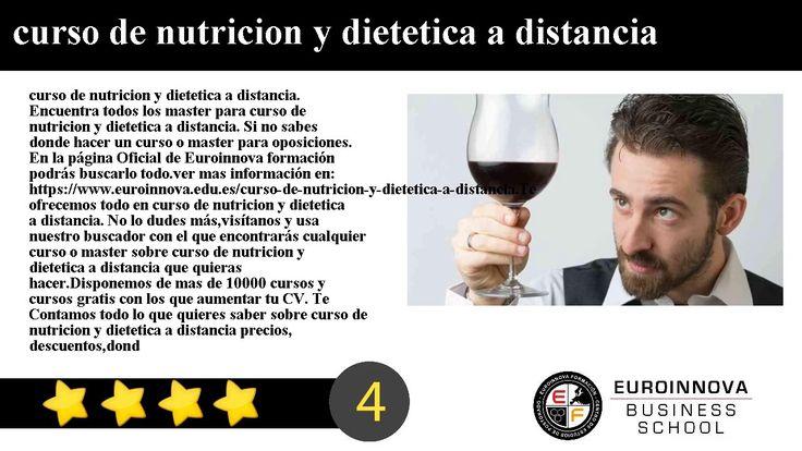 curso de nutricion y dietetica a distancia - curso de nutricion y dietetica a distancia. Encuentra todos los master para curso de nutricion y dietetica a distancia. Si no sabes donde hacer un curso o master para oposiciones. En la página Oficial de Euroinnova formación podrás buscarlo todo.    ver mas información en: https://www.euroinnova.edu.es/curso-de-nutricion-y-dietetica-a-distancia.    Te ofrecemos todo en curso de nutricion y dietetica a distancia. No lo dudes másvisítanos y usa…