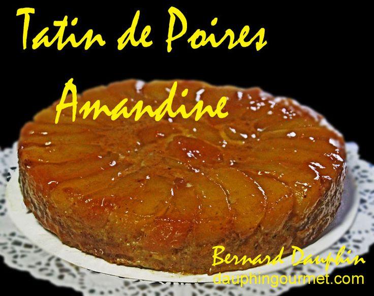 """Bien que l'appellation """"Tarte Tatin"""" soit normalement exclusivement réservée à la tarte aux pommes, elle est appliquée aujourd'hui à toutes les tartes cuites """"à l'envers"""" car elle donne de suite la manière dont elles ont été cuites et sont présentées...."""