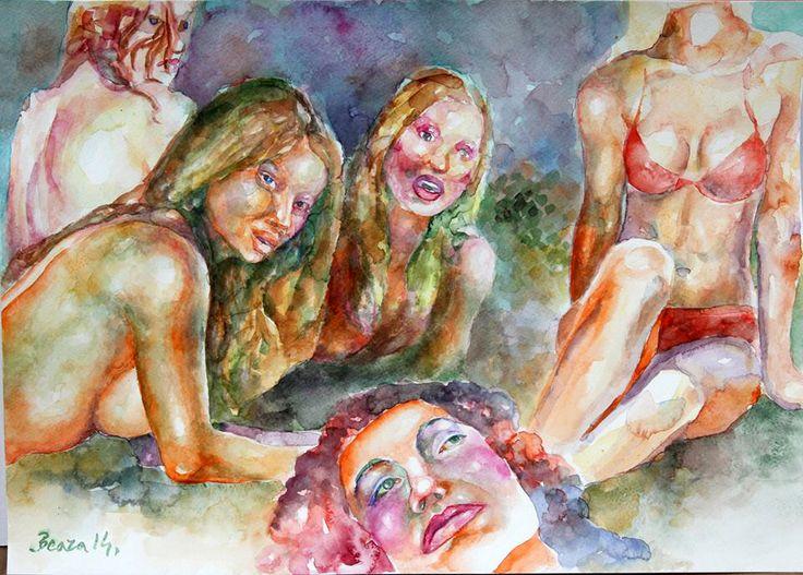 Ðorde Beara 2014 - akvarel 30x40 - 13